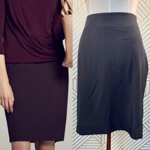 MM Lafleur The Noho Skirt in Brown Truffle